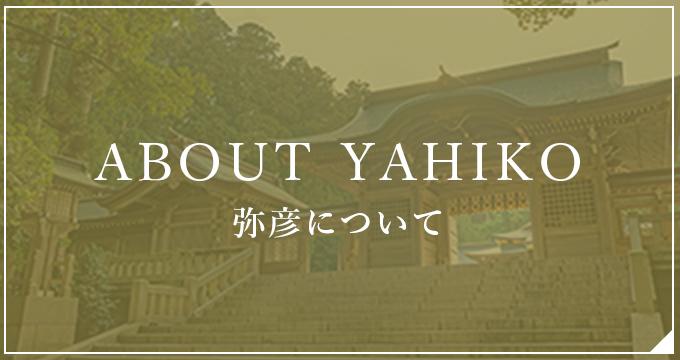 ABOUT YAHIKO 弥彦について